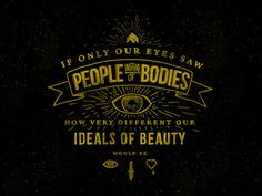 Trendgraphy: Ideals Of Beauty By Kyson DanaTwitterSource #type