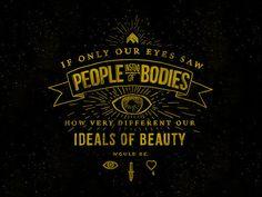 Trendgraphy: Ideals Of Beauty By Kyson DanaTwitter  Source