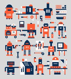 Romualdo Faura / Tecnicrea #information #illustration #graphic #character
