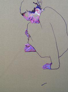 Cristina Troufa | PICDIT #design #art #portrait #painting