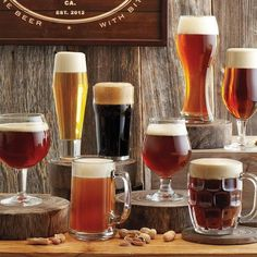 8 Piece Beer Tasting Set #tech #flow #gadget #gift #ideas #cool