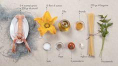 SDLinguine_ingredienti #ingredients #italian #recipe #food