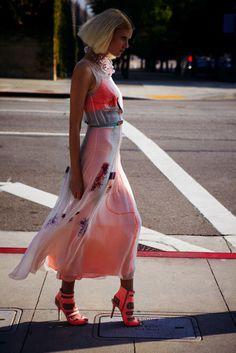 Alison Nix by Serge Leblon for Elle US