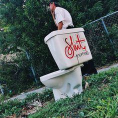 Shit Happens! #TheStreetofLife #lettering #Miami #design