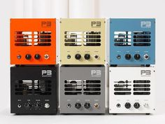 P3 Guitar Amplifiers | Design Milk #music #color #amps #electronics