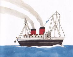 Topipittori: Vendetta tremenda vendetta #illustration #ship