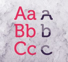 Uppercase & Lowercase #font #experimental #art #typo #typography
