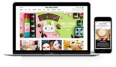 The Body Shop Ecommerce Website