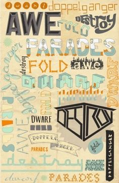 Beautiful Hand Drawn Typography - Smashing Magazine   Smashing Magazine #fonts #handwritten #drawn #letterform #hand #typography