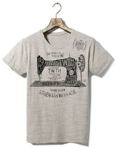 TWTH Atelier on Behance #old #tshirt #retro #illustration #type #typography