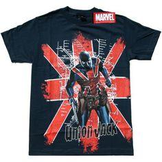 Union Jack #comic #marvel #shirt