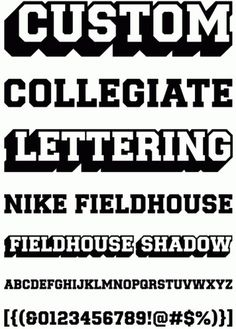 MADType #font #nike #typeface