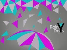 (ILLUSTRATOR PROJECT) #pi #umbrella #days #productions #rainy #grea #purple #rodrigues #piedade