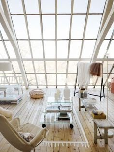 windows, natural woods #interior #design #homes #earth #wood #architecture #scandanavia