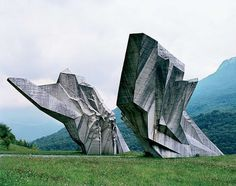 25 Abandoned Yugoslavia Monuments that look like they're from the Future | Crack Two