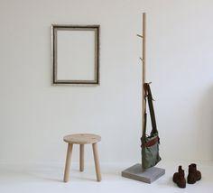 """Kleiderständer - Garderobe - """"Stammhalter"""" Eiche #wardrobe #interior #tree"""