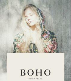 BOHO Cloth Branding by zofia szostkiewicz #clothing #branding #design #identity #logo