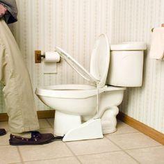 Flipper Hands-Free Toilet Seat Lifter #toilet #gadget