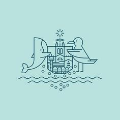 Newcastle #coatofarms #logo