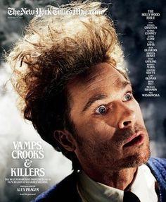 Brad Pitt Touched by Evil   Movie Talk - Yahoo! Movies #kramer #brad #photography #york #pitt #magazine #new