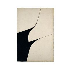 1 P A L A Z U E L O Pablo Palazuelo (1916 –2007) Spanish painter and sculptor #gallery #art #abstract #painting #black #white #paper #ar