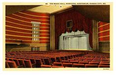 Music Hall, Kansas City, MO.
