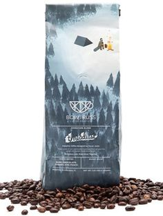 Threadless Blend #coffee #forest #illustration #package