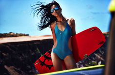 Lisandra Mendes by Francisco Garcia for Eve Brazil's Summer Campaign