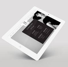 Metropolis Branding http://www.airdesign.co.uk/work/metropolis/ #website #ipad #design #branding
