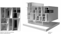 Piuarch — Bentini Headquarters #architecture #models #facades
