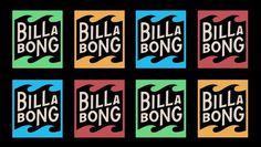 BillaBong by DAN CASSARO #logo #identity #branding