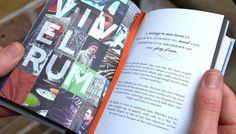 Banks rum book print