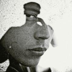 Multiple Exposure Portraits Multiple exposure... | The Khooll #photography #film