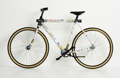 LEVI'S® COMMUTER X BOICUT X VANMOOF CUSTOM BIKE | BOICUT #bicycle #frame #vanmoof #bike