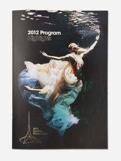 Arts Centre Melbourne #centre #branding #marque #arts #melbourne #performing #logo #brochure #typography