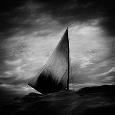 Scratching the Surface | PDN Photo of the Day #clouds #white #black #photography #ship #boat #and #sail #beauty