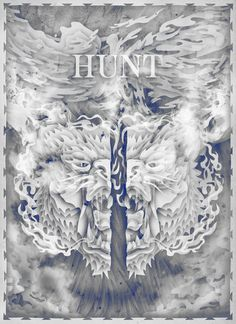 Hunt on Behance