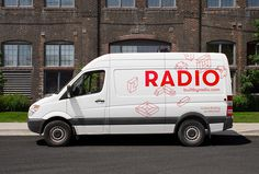 Radio by Tung #car #graphic design #print