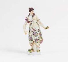 Meissen, Female Allegory #porcelain