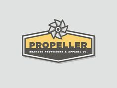 Propeller Reject #propeller #logo