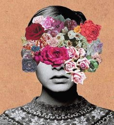 STE△L EVERYTHING #collage #flower #twiggy