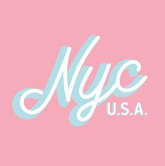 New York City #typography #logo #logodesign #lettering