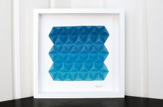 Blue Paper Tops, by Cecilia Hedin