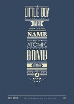 @inspiredMark #type #bomb #retro #typography