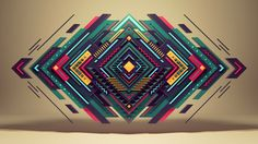 "Short movie ""Pure Geometry"" by Romanowsky on Behance #illustration #vector #geometry"