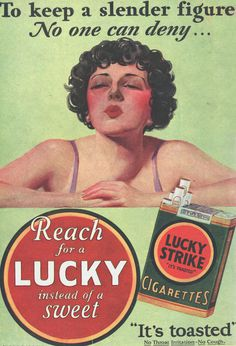 Click to View Larger Image #cigs #don #draper #lucky #50s #madmen