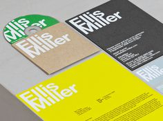 Cartlidge Levene New (and Old) Work Special #helvetica #identity #architect
