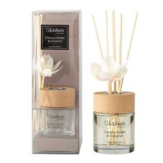 Fragrant Solar Flower Diffuser Creamy Vanilla & Coconut, 80 ml