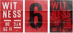 HORT #letterpress #lebron #nike #poster #nyc #short