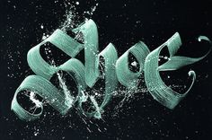 Calligraffiti by Niels Shoe Meulman – Fubiz™ #calligraphy #text #graffiti #calligraffiti #art #street #typography